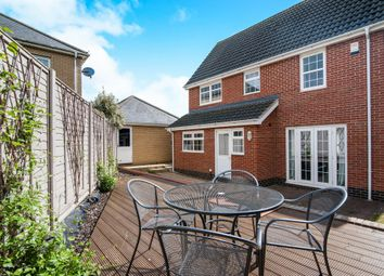 Thumbnail 3 bed detached house for sale in Viscount Close, Diss