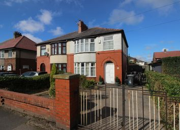 Thumbnail 3 bed semi-detached house for sale in Longridge Road, Ribbleton, Preston