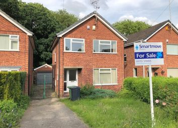Thumbnail 3 bed detached house for sale in Lynton Close, Ripley