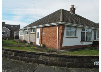 Thumbnail 2 bed semi-detached bungalow for sale in Pinewood Avenue, Bare, Morecambe