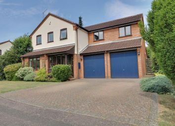 Thumbnail 5 bed detached house for sale in Swallow Close, East Hunsbury