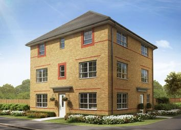 "Thumbnail 3 bedroom semi-detached house for sale in ""Brentford"" at Phoenix Lane, Fernwood, Newark"