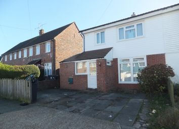 Thumbnail 1 bedroom semi-detached house to rent in Shelley Avenue, Canterbury