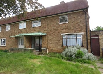 Thumbnail 3 bed terraced house to rent in South Oval, Northampton