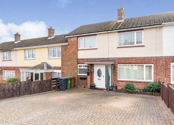 Thumbnail 3 bed terraced house for sale in Pope Road, Wellingborough