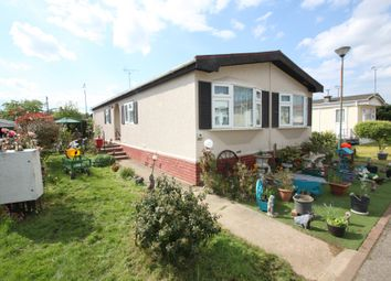 Thumbnail 2 bed mobile/park home for sale in The Close, Dome Caravan Park, Lower Road, Hockley