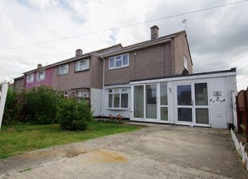 Thumbnail 2 bedroom end terrace house for sale in Clanfield Road, Swindon