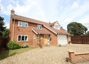 Thumbnail 4 bedroom detached house for sale in Station Road, Claydon, Ipswich, Suffolk