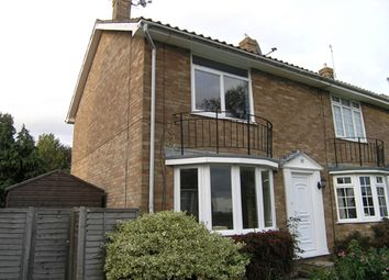 Thumbnail 2 bed end terrace house to rent in Larnach Close, Uckfield