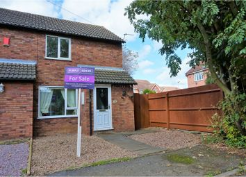 Thumbnail 2 bed semi-detached house for sale in Welham Walk, Thurmaston