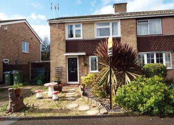 Thumbnail 3 bed semi-detached house for sale in Cremyll Close, Stubbington, Fareham