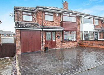 Thumbnail 3 bed semi-detached house for sale in Eastover, Romiley, Stockport