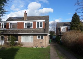 Thumbnail 3 bed semi-detached house to rent in Watkiss Drive, Rugeley