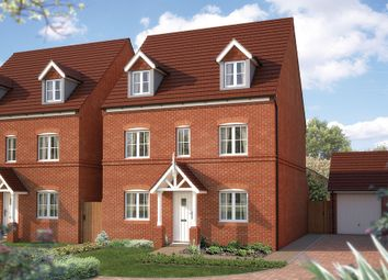 "Thumbnail 5 bed detached house for sale in ""The Chelford"" at Tixall Road, Tixall, Stafford"