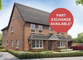 "Thumbnail 4 bedroom detached house for sale in ""Alnwick"" at Rykneld Road, Littleover, Derby"