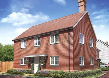 Thumbnail 4 bed detached house for sale in The Woodlands, Sandy Lane, Church Crookham