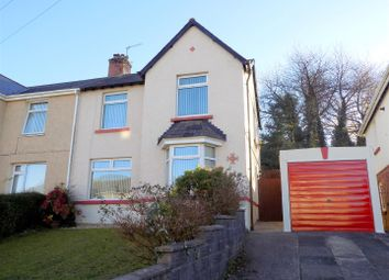 Thumbnail 3 bedroom semi-detached house for sale in Wellfield Avenue, Neath