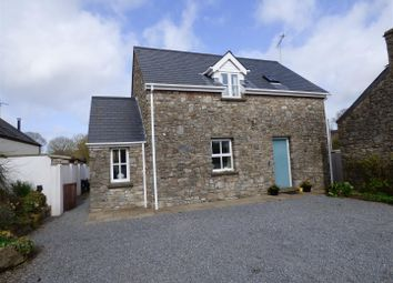 Thumbnail 3 bed detached house for sale in Church View, Hodgeston, Pembroke
