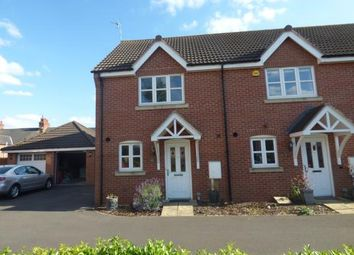 Thumbnail 2 bed end terrace house for sale in Harrow Place, Knighton, Leicester