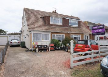 Thumbnail 3 bed semi-detached house for sale in Baldwin Road, Greatstone