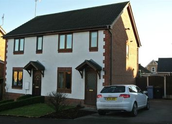 Thumbnail 2 bed semi-detached house to rent in Goldcrest Rise, Gateford, Worksop, Nottinghamshire