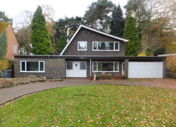 Thumbnail 4 bed detached house to rent in Talbot Avenue, Little Aston, Sutton Coldfield