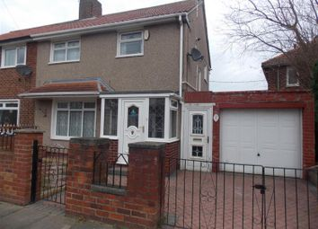 Thumbnail 3 bedroom end terrace house to rent in Gisburn Avenue, Middlesbrough