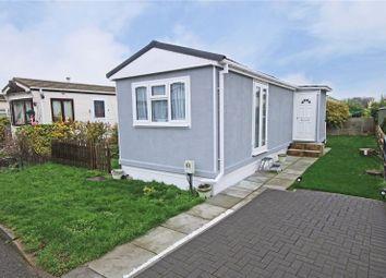 Thumbnail 1 bed mobile/park home for sale in Wey Avenue, Penton Park, Chertsey, Surrey
