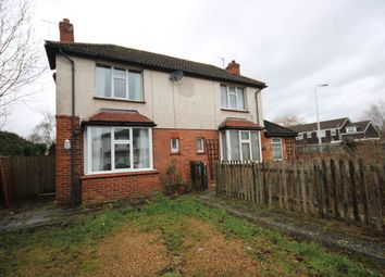 Thumbnail 1 bed semi-detached house to rent in Newport Road, Newbury