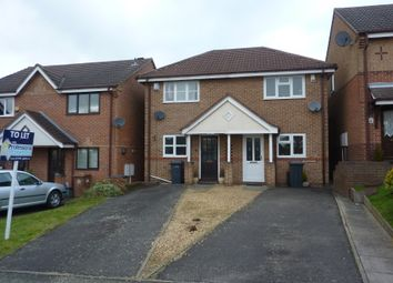Thumbnail 2 bed semi-detached house to rent in Tudor House Close, Newhall, Swadlincote