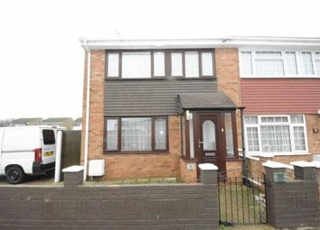 Thumbnail 3 bed end terrace house to rent in Welland, East Tilbury, Essex