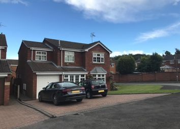 Thumbnail 4 bed detached house for sale in Diamond Grove, Cannock