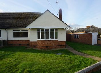 Thumbnail 2 bed bungalow for sale in Aintree Crescent, Leicester