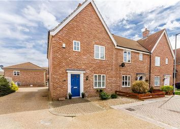 Thumbnail 3 bed end terrace house for sale in Cyprian Rust Way, Soham, Ely