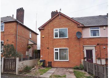 Thumbnail 2 bed semi-detached house for sale in Swannington Road, Leicester