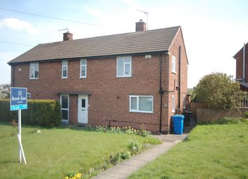 Thumbnail 2 bed semi-detached house to rent in Whitworth Road, Chesterfield