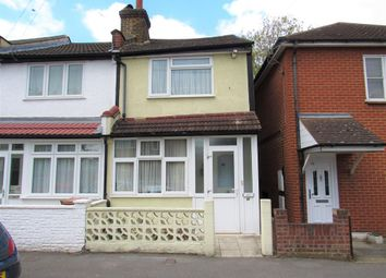 Thumbnail 2 bed end terrace house for sale in York Street, Mitcham Junction, Surrey