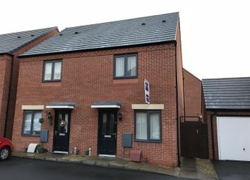 Thumbnail 2 bedroom semi-detached house for sale in Rockford Place, Wolverhampton