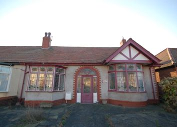 Thumbnail 2 bed semi-detached bungalow for sale in Boscombe Road, Blackpool