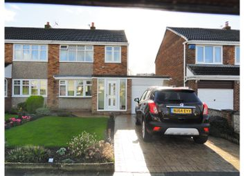 Thumbnail 3 bed semi-detached house for sale in Crowland Road, Hartlepool