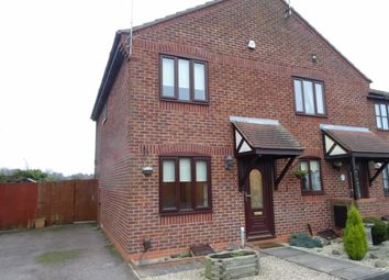 Thumbnail 2 bed town house to rent in Wensum Close, Hinckley