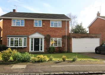 Thumbnail 4 bed detached house for sale in Lowfield Green, Caversham, Reading