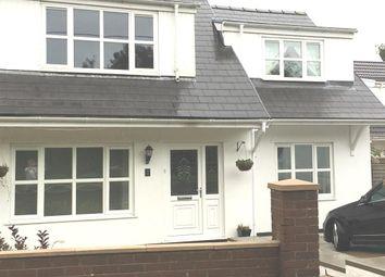 Thumbnail 3 bed semi-detached bungalow for sale in Llwyn Yr Eos, Abercanaid, Merthyr Tydfil