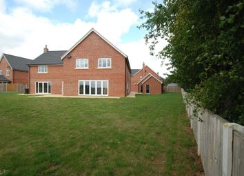 Thumbnail 4 bed detached house to rent in Church Farm Close, Bramerton, Norwich