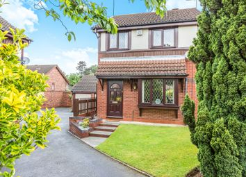 Thumbnail 3 bedroom end terrace house for sale in Whinchat Grove, Kidderminster