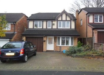 Thumbnail 4 bed detached house to rent in Hampton Close, Sutton Coldfield