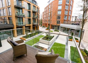 Thumbnail 2 bed flat for sale in Capital House, 4 Plaza Gardens, London