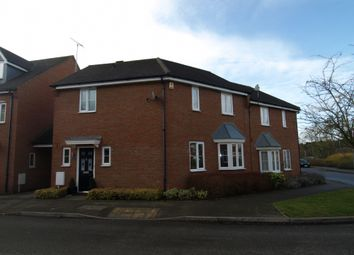 Thumbnail 3 bed semi-detached house for sale in Hopton Grove, Newport Pagnell, Buckinghamshire