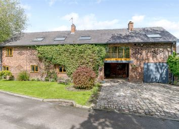 Thumbnail 4 bed barn conversion for sale in Trouthall Lane, Plumley, Knutsford
