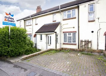 Thumbnail 3 bed terraced house for sale in Hill Road, Folkestone